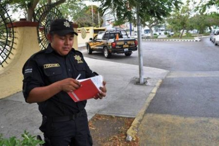 Policías yucatecos: bien evaluados y mal pagados
