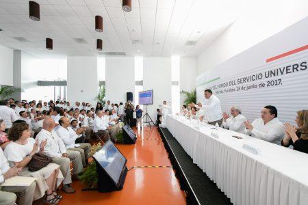 LLEVAN ELECTRICIDAD A MÁS DE 100 COMUNIDADES YUCATECAS