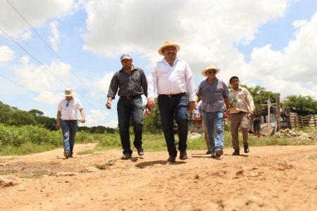 Piden pavimentación de calles y parques en la colonia Nueva San José Tecoh