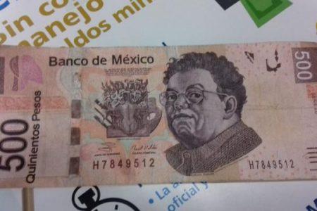 Denuncia que le dieron un billete falso de $500 pesos en Banco Azteca