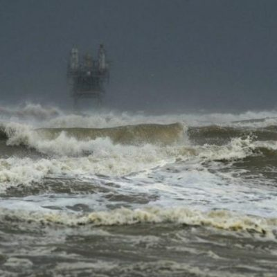 Harvey impide la llegada de cruceros a Yucatán