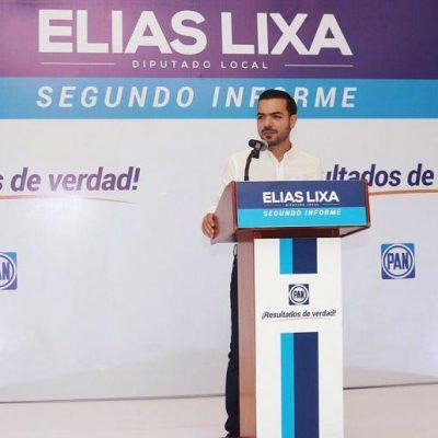 Elías Lixa: Quiero que se acaben los gobiernos del PRI