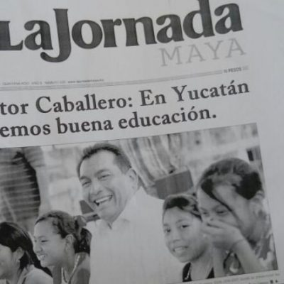 Caballero Durán ya se 'vende' como candidato a gobernador