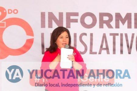 Celia Rivas encuentra la fórmula vital para avanzar como diputada