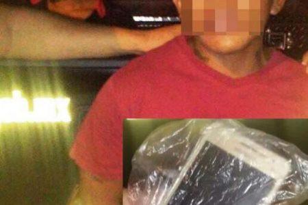 Captura SSP a un asaltante del fraccionamiento Santa Cruz