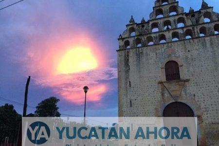 Captan extraño fenómeno en el cielo del sur de Yucatán