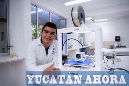 Yucateco cerca de sustituir el metal en prótesis para unir huesos