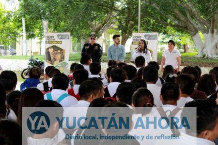 Estudiantes del CBTIS de Tekax velarán por la seguridad de su escuela