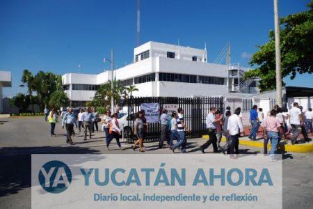 Aprenden a actuar en caso de explosión en CONAGUA Yucatán