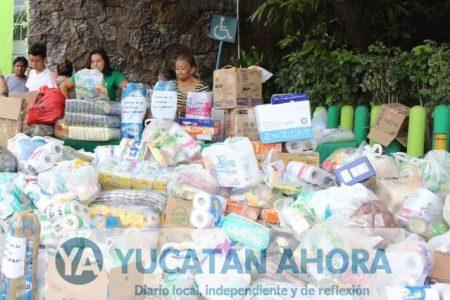Ayuntamiento abre más centros de acopio de víveres por temblor en CDMX