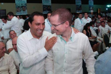 Mauricio Vila estrecha alianzas en el informe de Carlos Joaquín González