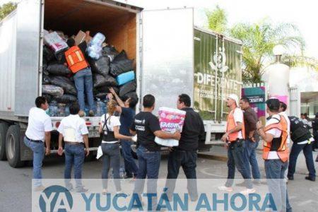 Arquidiócesis obtiene 10 toneladas de productos durante la misa dominical