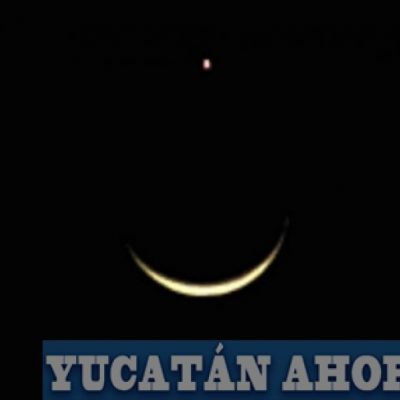 """Amanece """"más tarde"""" y se forma la bandera del islam en el cielo yucateco"""