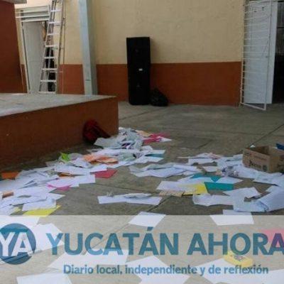 """""""Amigos de la Mars"""" vandalizan de nuevo escuela de la Francisco I. Madero"""