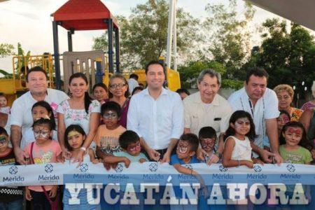 En su renovado parque podrán mejorar su salud vecinos de El Roble