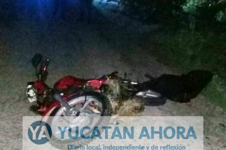 Dos accidentes de motociclistas rumbo a Cancún, uno muere