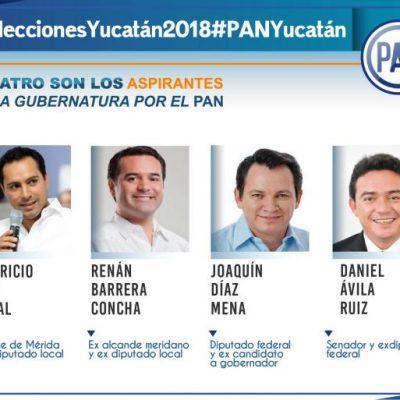 Sucesión en Yucatán: cuatro panistas tras la gubernatura