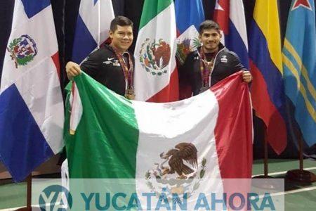 Lino Montes logra medalla de bronce en el Centroamericano de Pesas