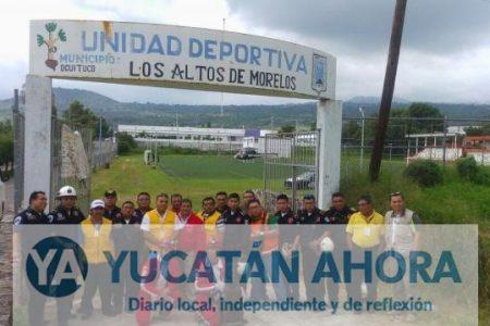 En Morelos trabajarán los rescatistas de Yucatán