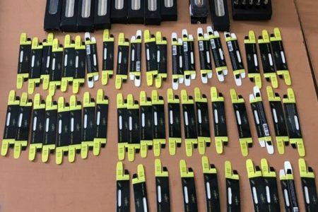 En cigarros electrónicos escondían aceite de marihuana
