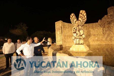 Mauricio Vila inaugura la nueva iluminación del Monumento a la Patria