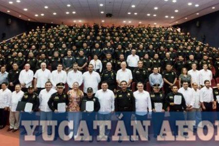 Yucatán tiene cada día policías mejor preparados