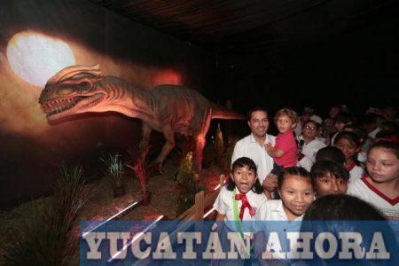 Gratis puedes vivir una experiencia con dinosaurios a partir de hoy