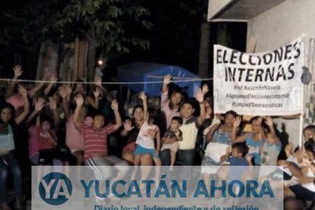 Priistas de Hunucmá no quieren imposición de candidato a la alcaldía
