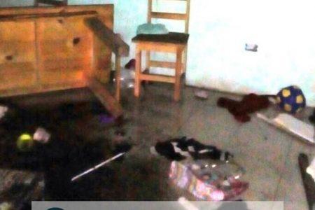"""Le queman la casa a """"paracaidista y azote"""" de Los Tulipanes Kanasín"""