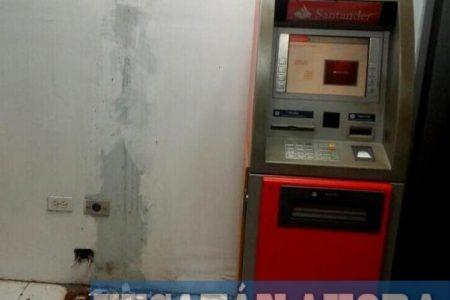 Empleados de traslado de valores, sospechosos del robo de cajero automático