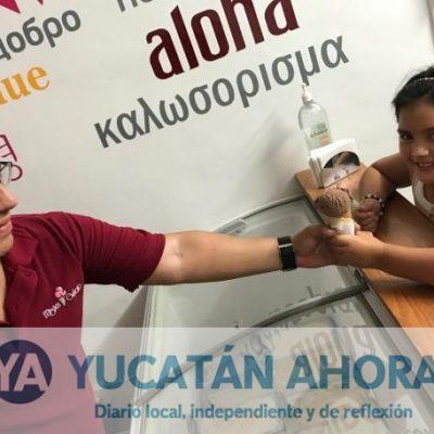 Se independizó y creó helado hasta para los hijos perrunos en Mérida