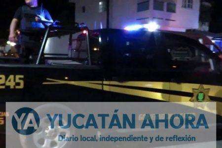 Amplio operativo para detener a un infractor de tránsito en el norte de Mérida