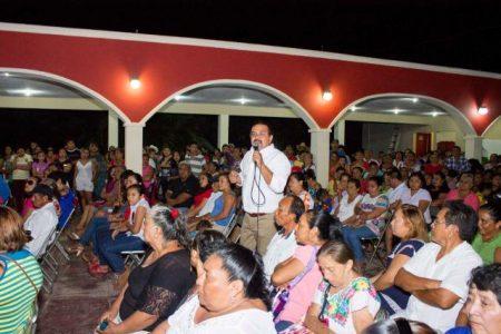 Tenemos que ir por más, dice el líder del PRI en Homún