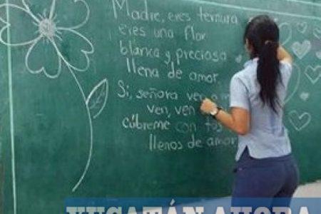 Redes sociales catapultan a la fama a joven maestra yucateca