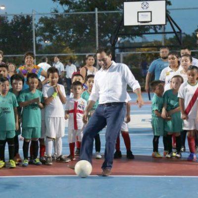 Parque del Amor y la Amistad recibe cariño del Ayuntamiento de Mérida