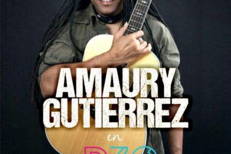 Anuncian concierto de Amaury Gutiérrez en +D30