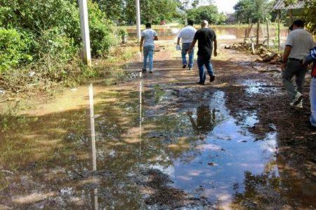 Inundaciones de predios en Sucilá y el Cono Sur de Yucatán