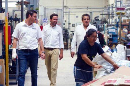 Recalca Pablo Gamboa compromiso de impulsar empresas