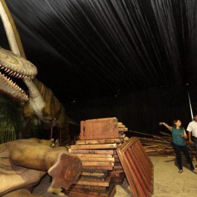 Conoce gratis a 24 dinosaurios de tamaño real