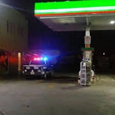 Quisieron sentirse grandes y asaltaron una gasolinera