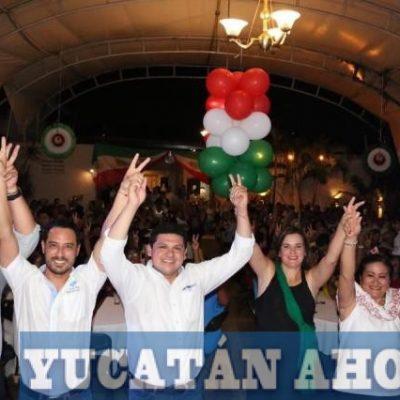 Panistas celebran noche mexicana y hacen llamado a la unidad