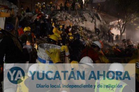 Ningún yucateco murió en el temblor y tampoco hay desaparecidos