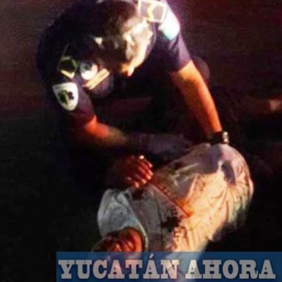 """Atropella a un policía en la """"glorieta del chile habanero"""" y se escabulle"""