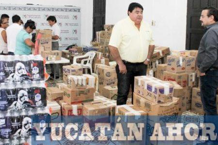 El PRI enviará tres toneladas de víveres a damnificados del temblor