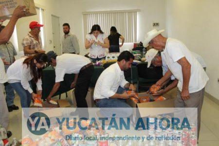 Personal del INCAY recopila medicinas y alimentos para afectados del sismo