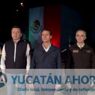 Peña Nieto: La prioridad es el rescate de las personas atrapadas