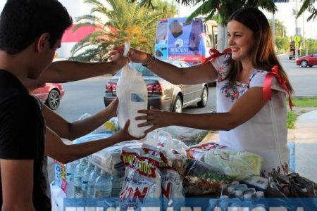 """""""Llueve"""" la ayuda para los damnificados de Chiapas y Oaxaca"""