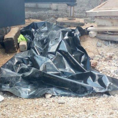 Muere trabajador en la construcción de Vía Montejo