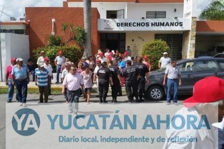 Ejidatarios de Cinco Colonias amenazan con bloquear accesos al Instituto de Vivienda