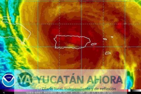 Huracán María toca tierra en Puerto Rico esta madrugada